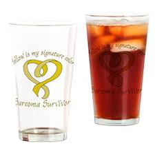 Sarcoma Signature Color Drinking Glass