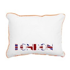 London Tower Bridge Unio Rectangular Canvas Pillow