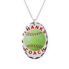 Softball Coach Thank You Uniqu Necklace
