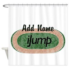 iJump Track and Field Shower Curtain