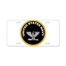 Captain Aluminum License Plate