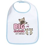 Big Cousin of Twins (Kitty) Bib