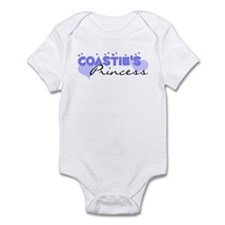 Coastie's Princess Infant Bodysuit