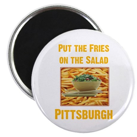 Fries 2.25&quot; Magnet (10 pack)