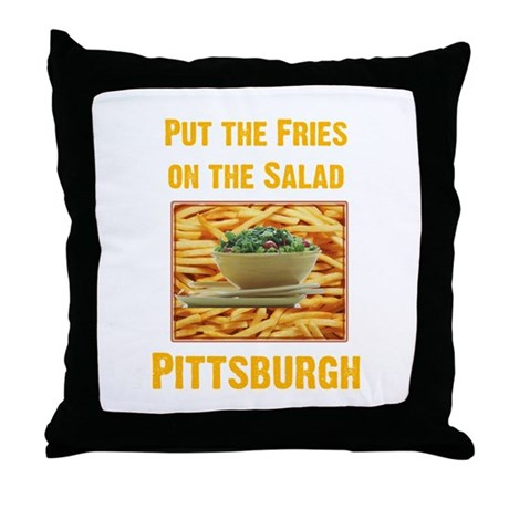 Fries Throw Pillow