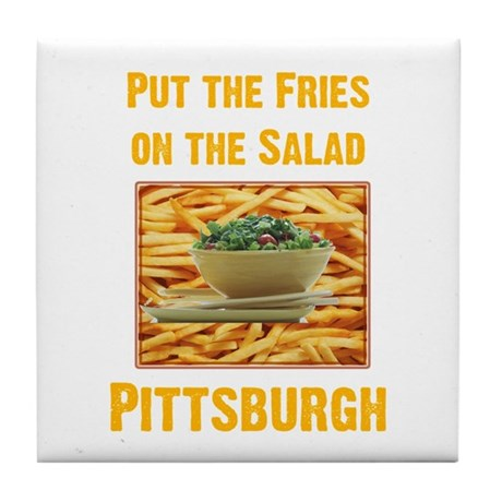 Fries Tile Coaster