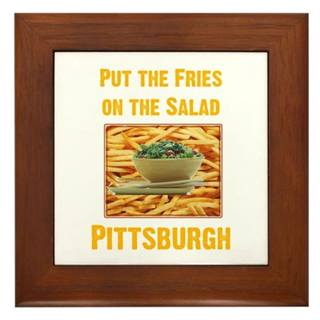 Fries Framed Tile
