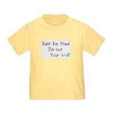 Cute Crayon writing T