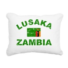 ZAMBIA Rectangular Canvas Pillow