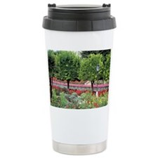 Colorful garden Ceramic Travel Mug