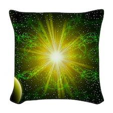 The Core Woven Throw Pillow