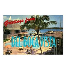 """Del Boca Vista"" Postcards (Package of 8)"