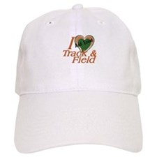 Love Heart Track and Field Event Baseball Cap
