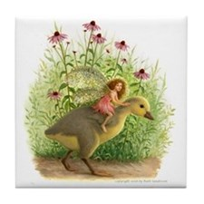 Fairy Gosling Tile Coaster