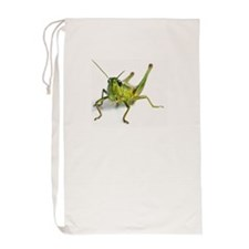 Close-Up of Grasshopper Laundry Bag