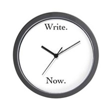 Write. Now. Clock