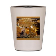The Lion of Zion Shot Glass