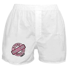 Pink Cure Breast Cancer Boxer Shorts