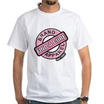 Pink Cure Breast Cancer White T-Shirt