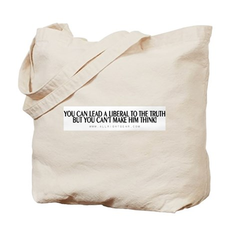 Lead A Liberal Tote Bag