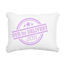 Delivery-JUNclr Rectangular Canvas Pillow