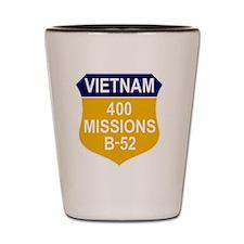 400 MISSIONS - B-52 Shot Glass