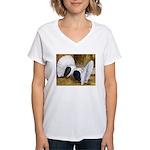 Saddle Fantails Women's V-Neck T-Shirt