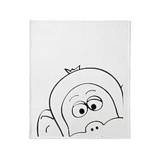 munky Throw Blanket