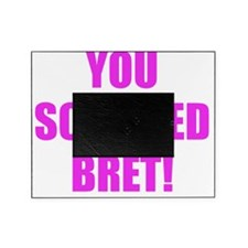 You screwed Bret Picture Frame