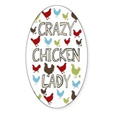 sigg-crazychickenlady Decal