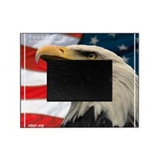 Eagle Design 2 Tile Coaster Picture Frame
