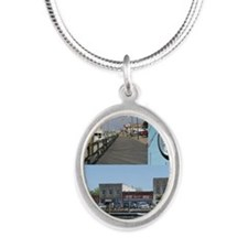 Beaufort Coolest Silver Oval Necklace