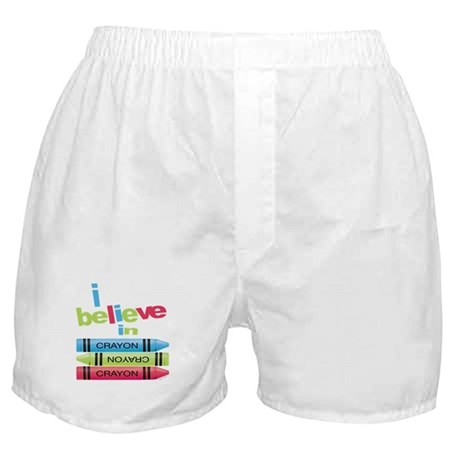 I believe in colors! Boxer Shorts