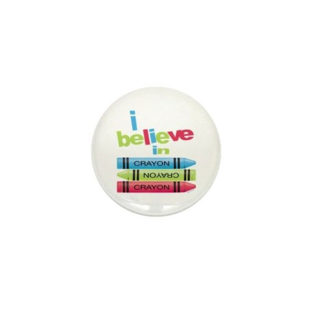 I believe in colors! Mini Button
