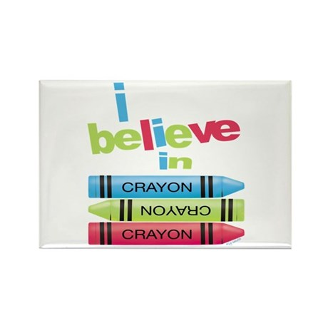 I believe in colors! Rectangle Magnet (100 pack)