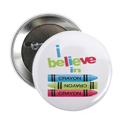 I believe in colors! Button