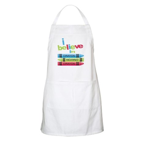 I believe in colors! BBQ Apron