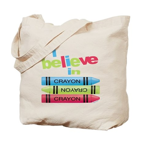 I believe in colors! Tote Bag