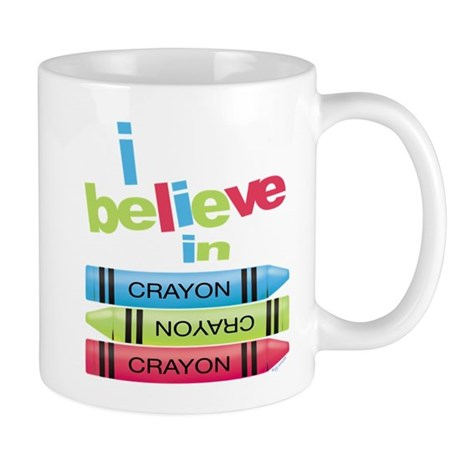 I believe in colors! Mug