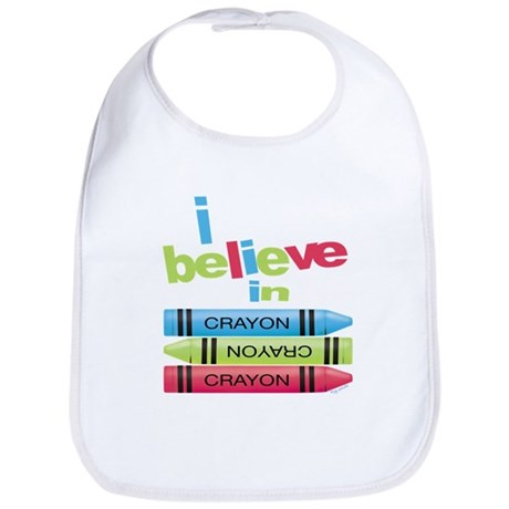 I believe in colors! Bib