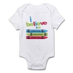 I believe in colors! Infant Bodysuit