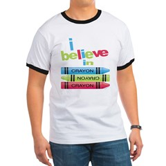 I believe in colors! Ringer T