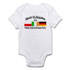 Polish-Irish-German Infant Bodysuit