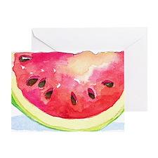 Slice of Watermelon Greeting Card
