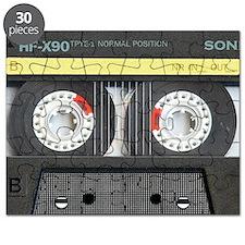 Cassette pillow case Puzzle