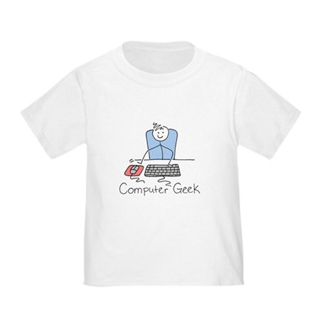 Computer Geek Toddler T-Shirt