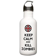 Keep Calm and Kill Zom Water Bottle