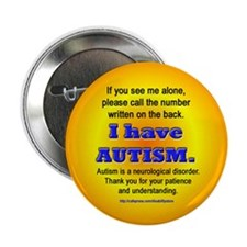 """""""Autism Safety Info"""" Button"""