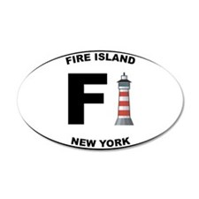 Fire-Island-lighthouse-clear Wall Decal
