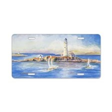 Boston Light 2 Aluminum License Plate